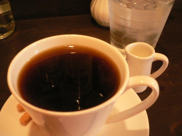 カフェなかちよさんの珈琲