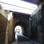 茨木市田中にあるまるまたのトンネル