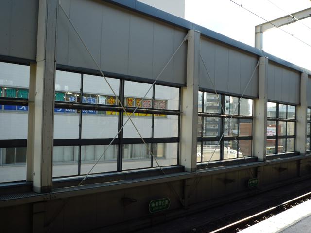 阪急茨木市駅ホーム大阪向き