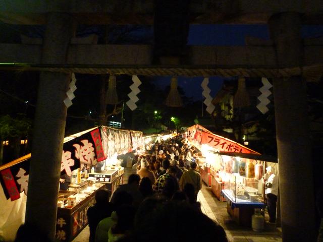 2014年茨木神社の初詣