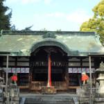 茨木神社本殿