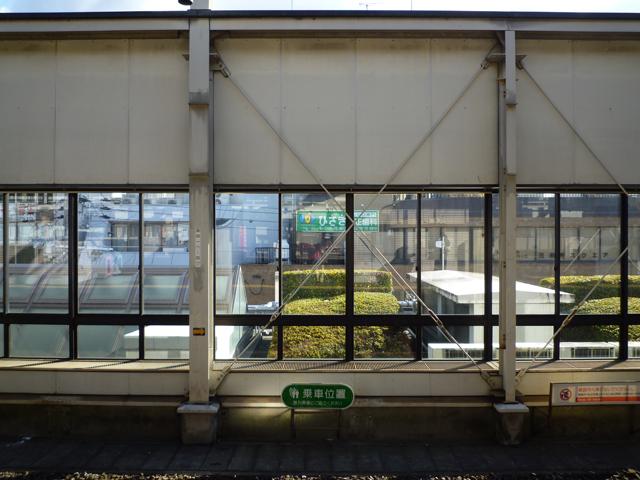 阪急高槻市駅の風景1
