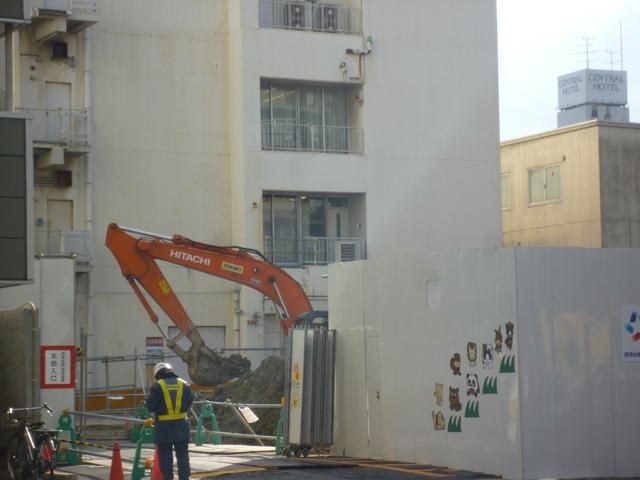 摂津水都信用金庫の工事