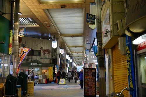 松村医院のある阪急本通商店街