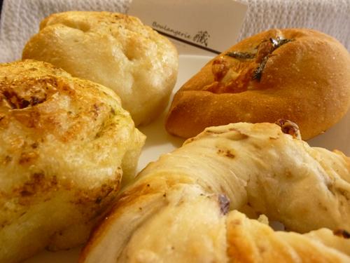 ブーランジュリー藏のパン