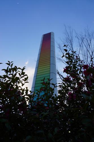 阪急茨木市駅東側のレインボータワー