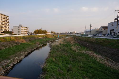 幣久良橋・茨木川171号方面