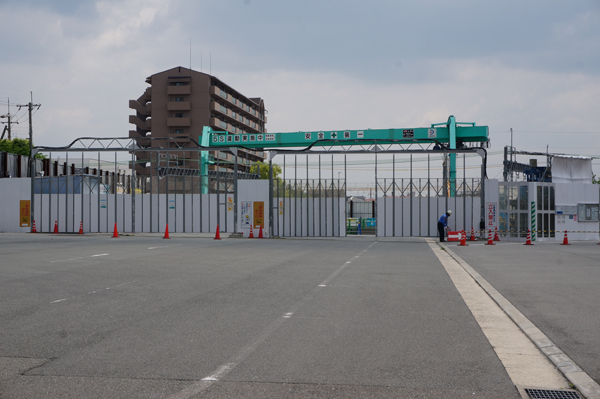 工事の入り口