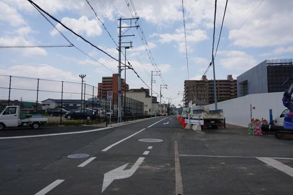 西中条奈良線整備区間南向き