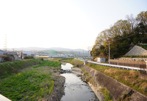 茨木川・白井河原合戦跡