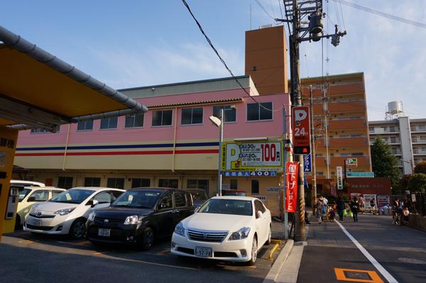 茨木西駅前エコキューブパーキング