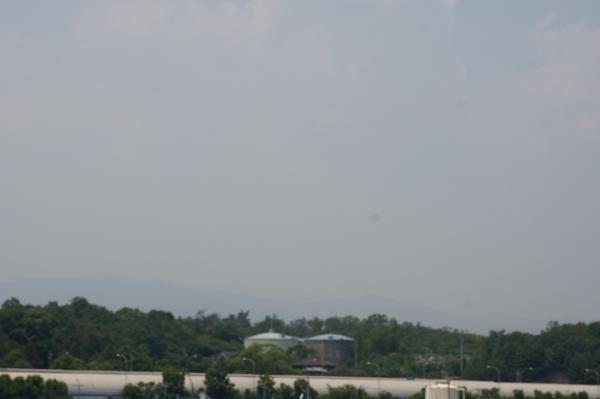 茨木市の名神方向の空