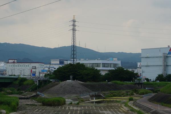 安威川と茨木川合流場所2