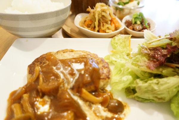 豆腐ハンバーグ定食DSC05950