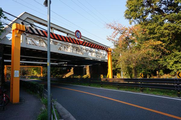 川端通りJR高架