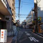 竹橋町のマンションのコインランドリー