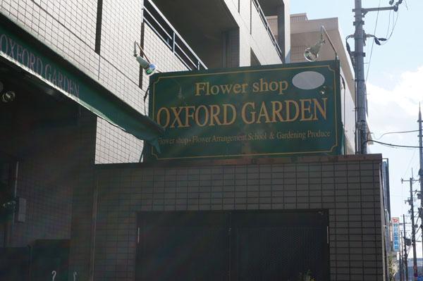 オックスフォードガーデン看板
