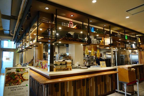 立命キャンピングカフェのキッチン