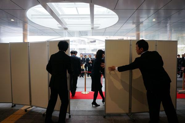 JR茨木東口ついたてオープン