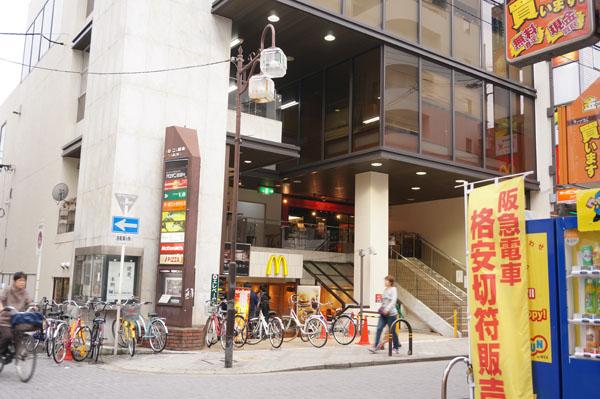 阪急格安きっぷ販売機から南西DSC00711