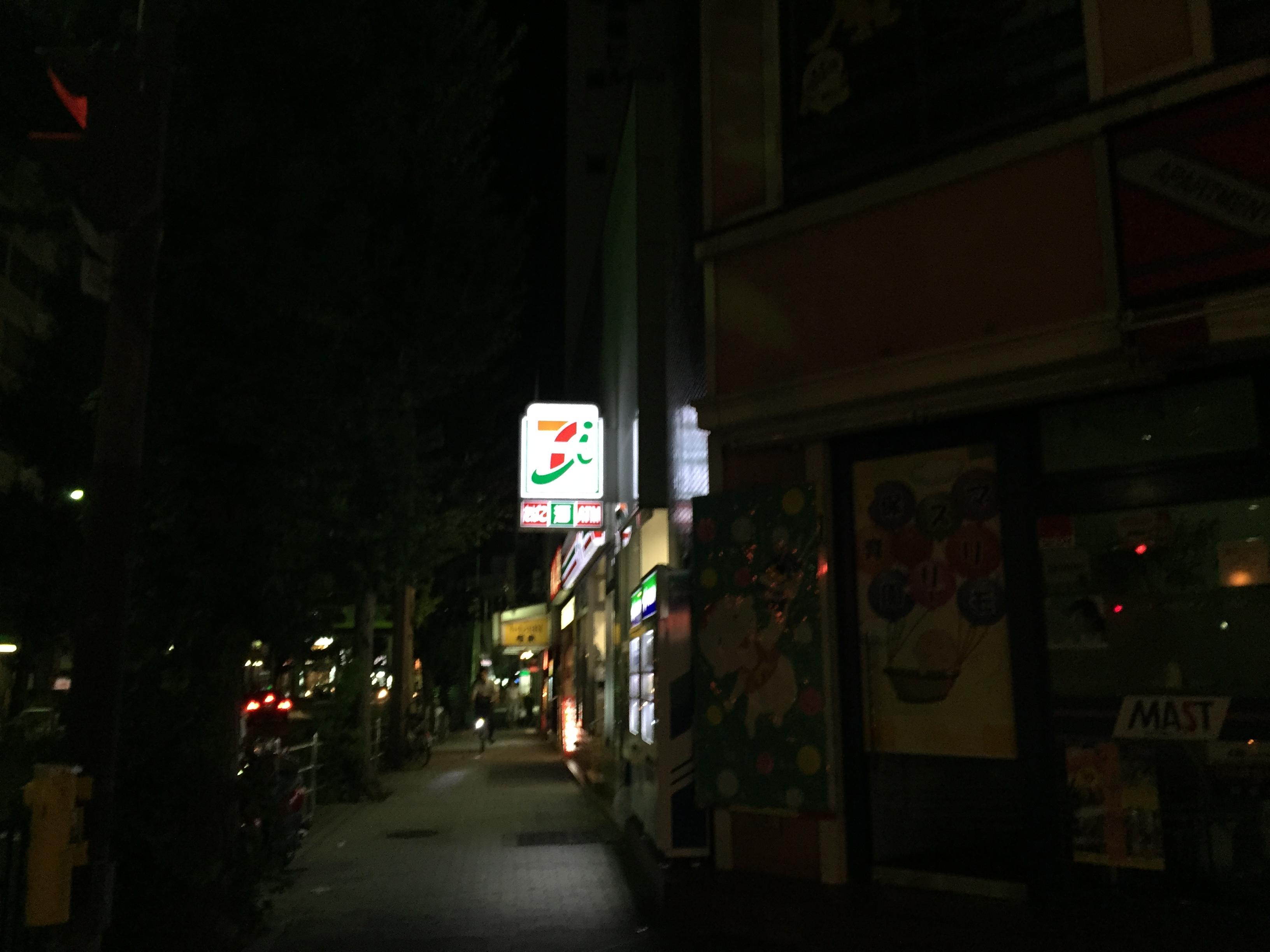 JR茨木駅前のセブンイレブン