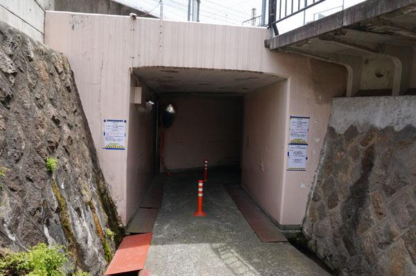 JR茨木大阪寄りの高架
