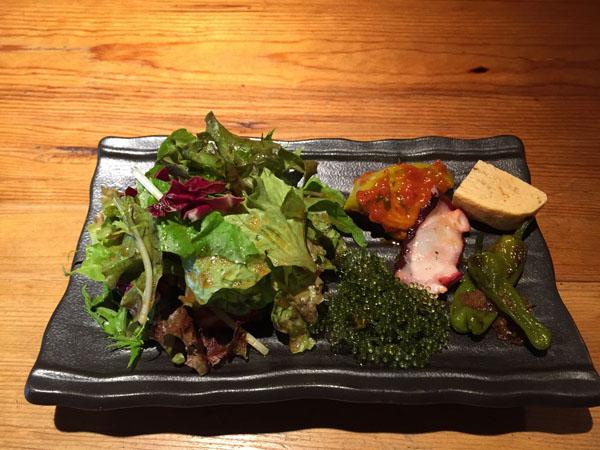 阪急茨木・おはなランチの前菜