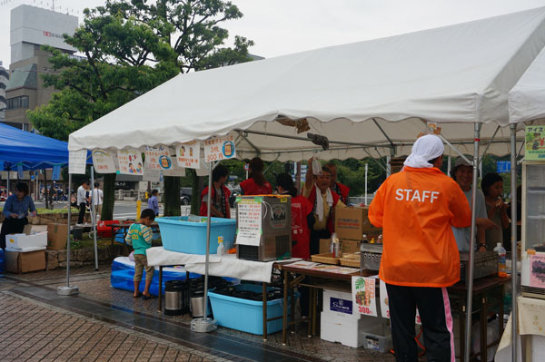 JR駅前商店会ブース