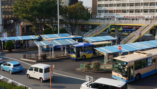 JR茨木バスターミナル