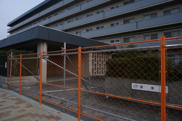 JR西茨木寮の玄関あたり