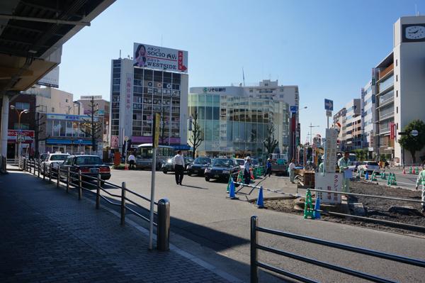 JR茨木西側工事タクシー乗り場