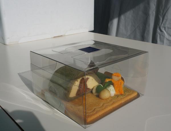 安威川ダムケーキ