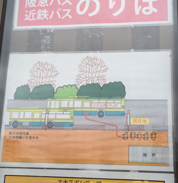 JR茨木バスの乗り方