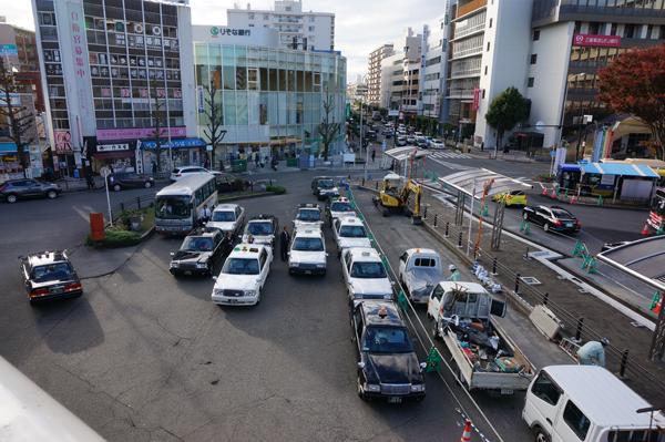 JR茨木西タクシー乗り場