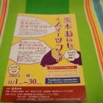 2015茨木おいもスイーツフェアのパンフレット