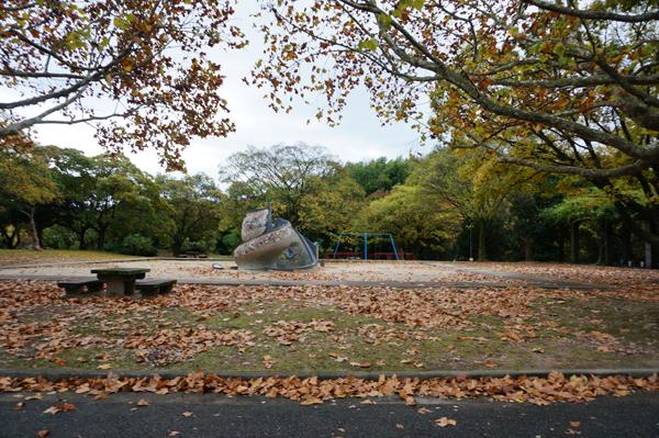 万博の中の公園
