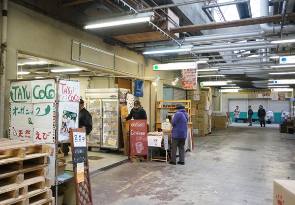 中央市場のタユココ