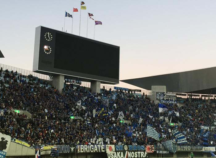 長居2015年天皇杯準決勝