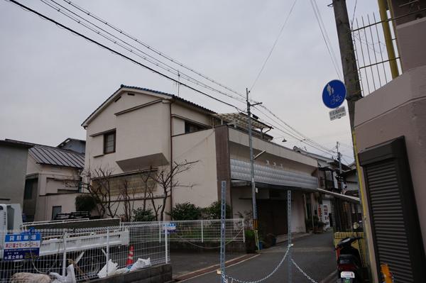 茨木湯の煙突がない