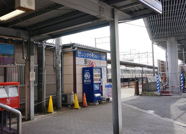 1JR茨木駅降りたところ
