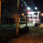 枚方茨木線夜の西方向