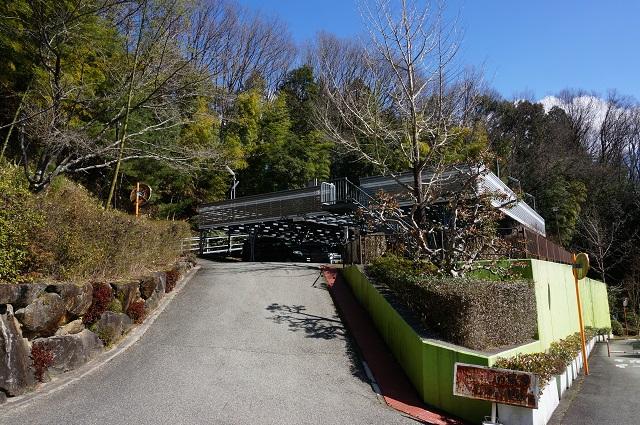 忍頂寺スポーツセンターの立体駐車場