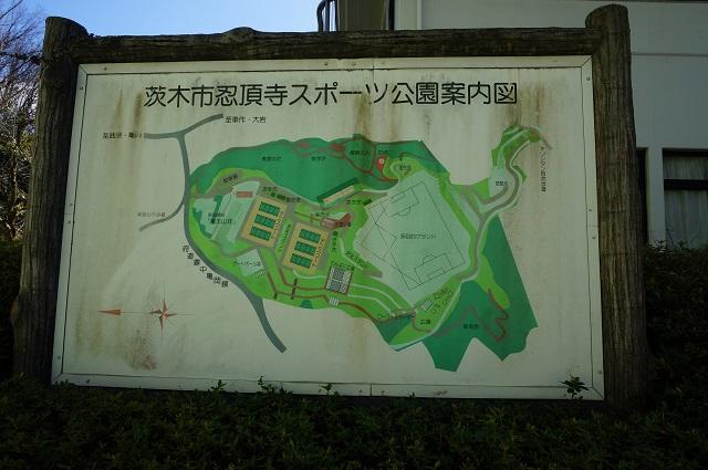 忍頂寺スポーツ公園マップ