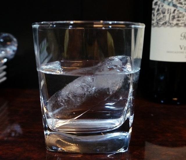 千のグラス氷溶けたところ