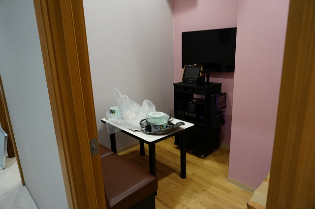 カラオケセブン一階の小さい部屋