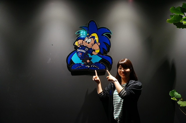 ガンバ大阪クラブハウス入ったところ