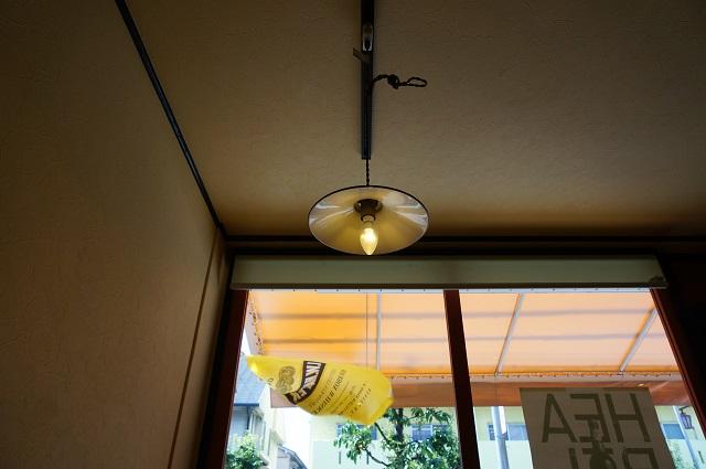 カフェターヴォラ店内照明