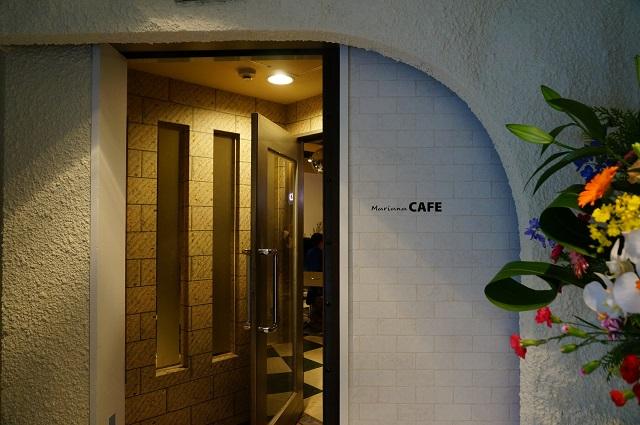 マリアナカフェ入口