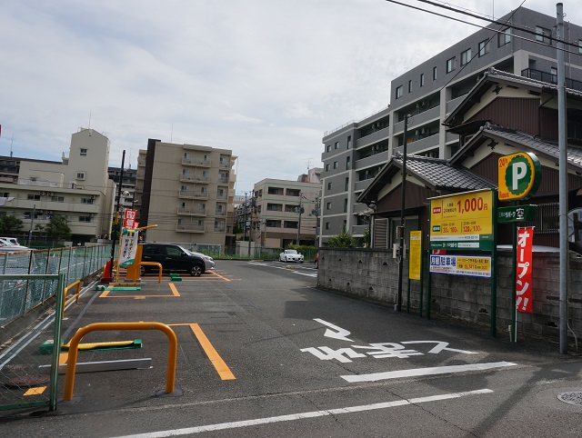 リパーク茨木松ケ本第2駐車場全景DSC00618