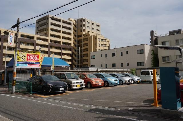 onePark松ケ本町駐車場全景DSC00627